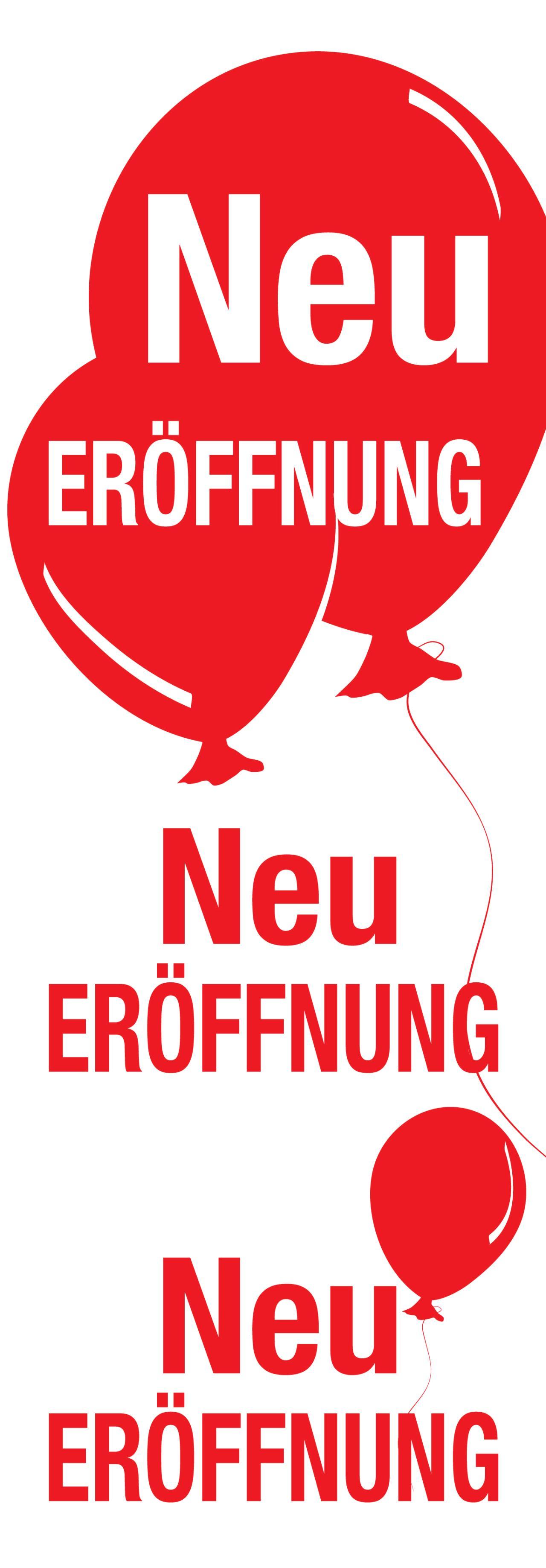 """Plakat """"Neu ERÖFFNUNG"""""""