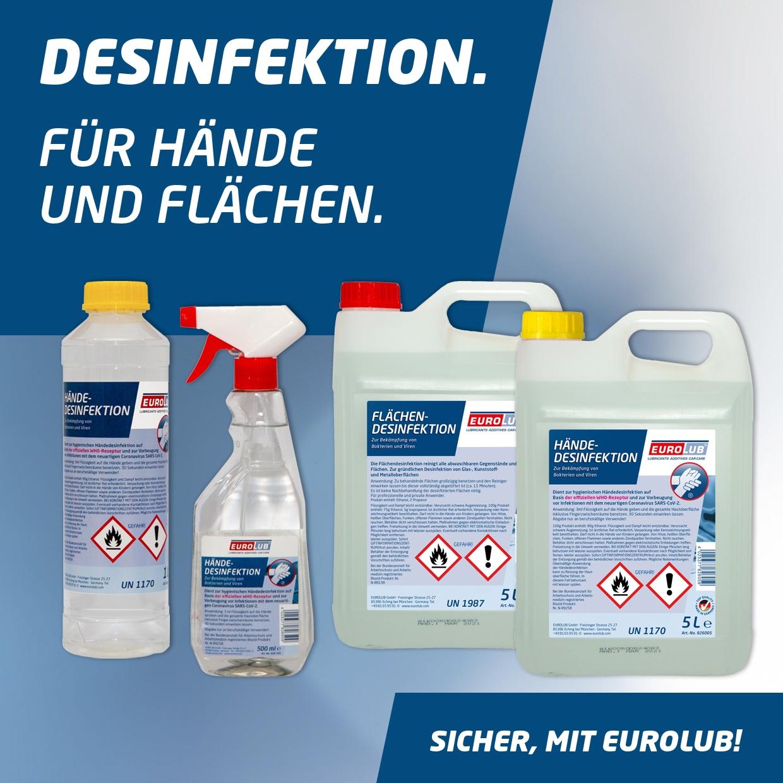 Hände-Desinfektion 25 Liter