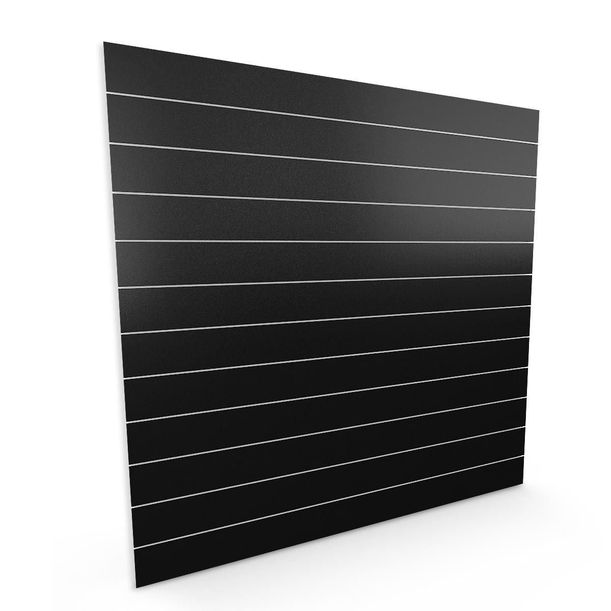 Spacewall Lamellenwand Slatwall schwarz