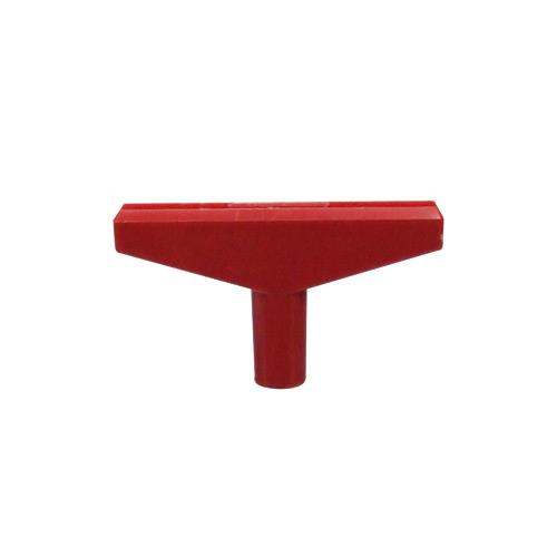 Plakathalter Adapter rot
