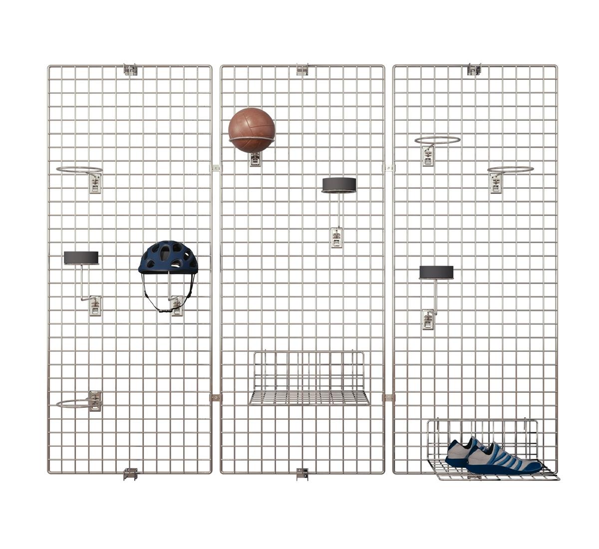 Deko Wandgitter 3er-Set: 60 x 100 cm