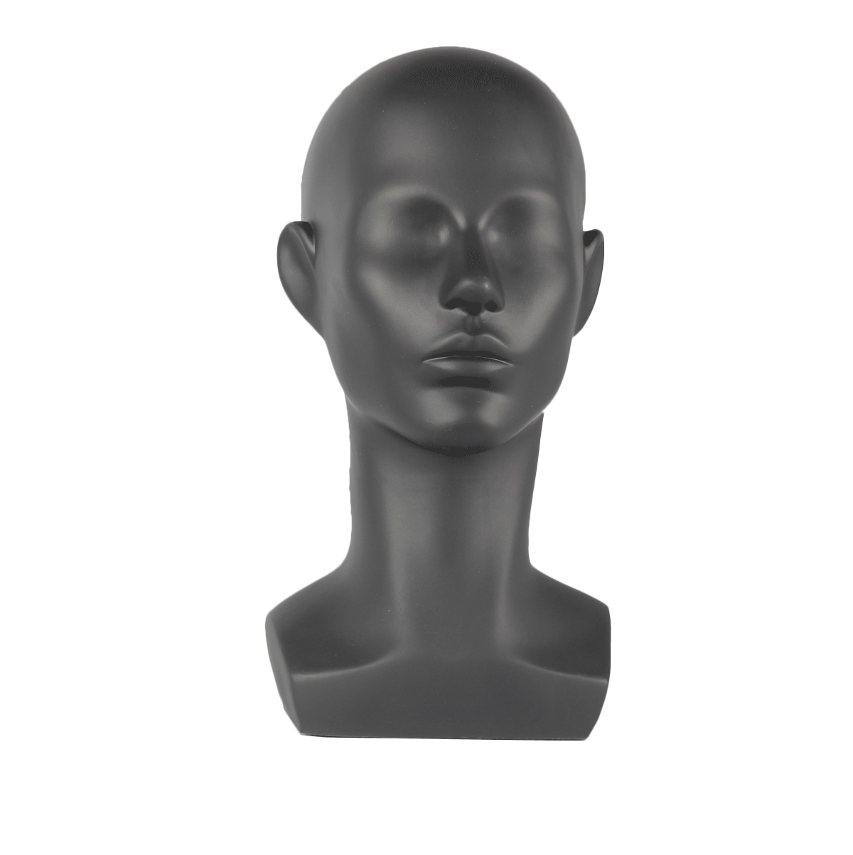 Weiblicher Schaufenster-Kopf abstrakt