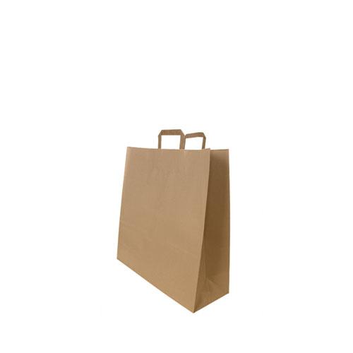 Tragetaschen aus Papier braun