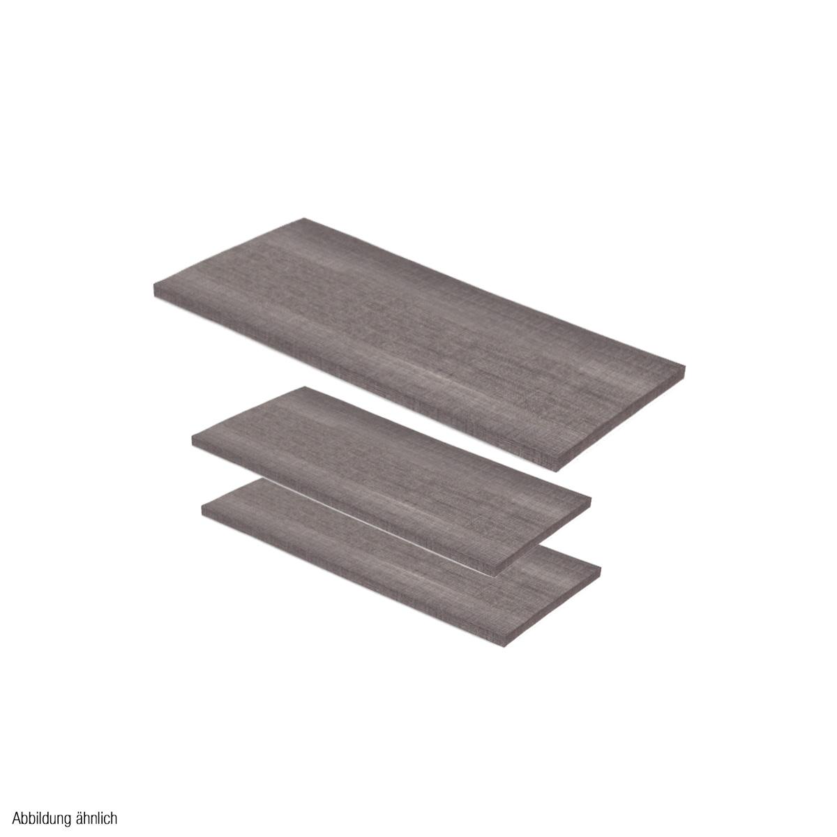 Holzplatten-Set ulme für Mittelraumtisch Scala