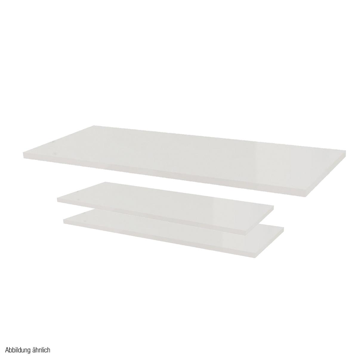 Holzplatten-Set weiß für Mittelraumtisch Scala