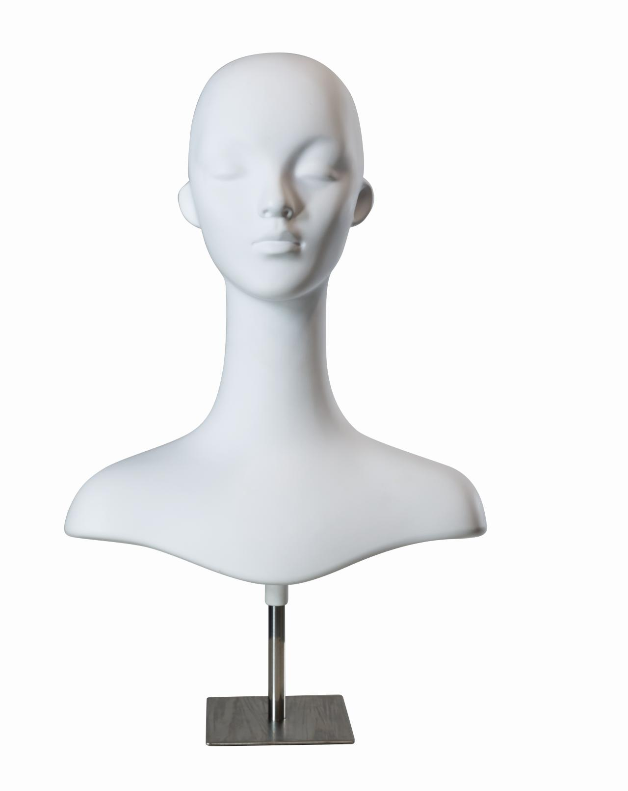 Damenkopf mit Ständer