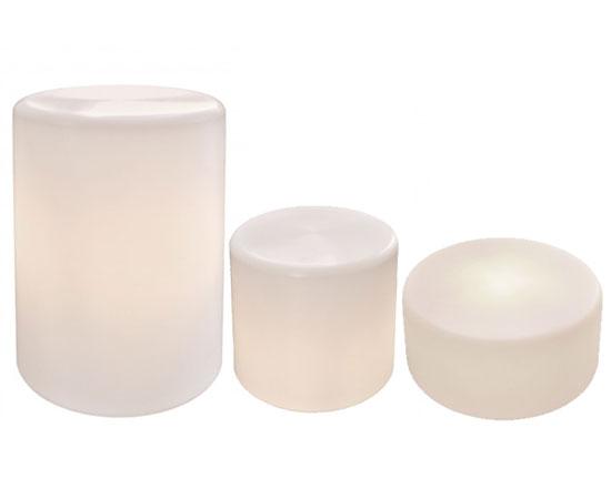 Leuchtkörperset Zylinder