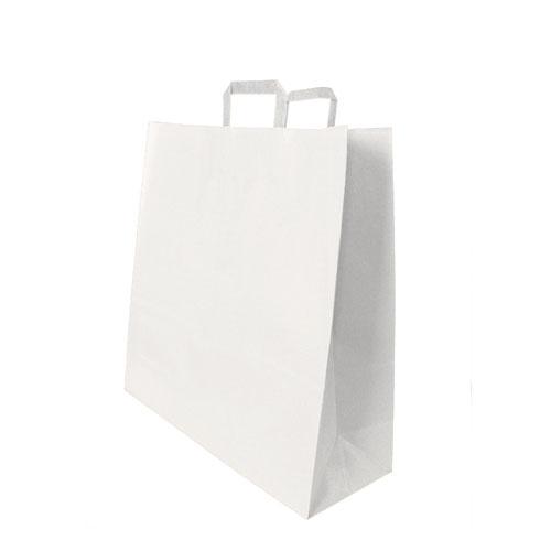 Papiertragetasche weiß