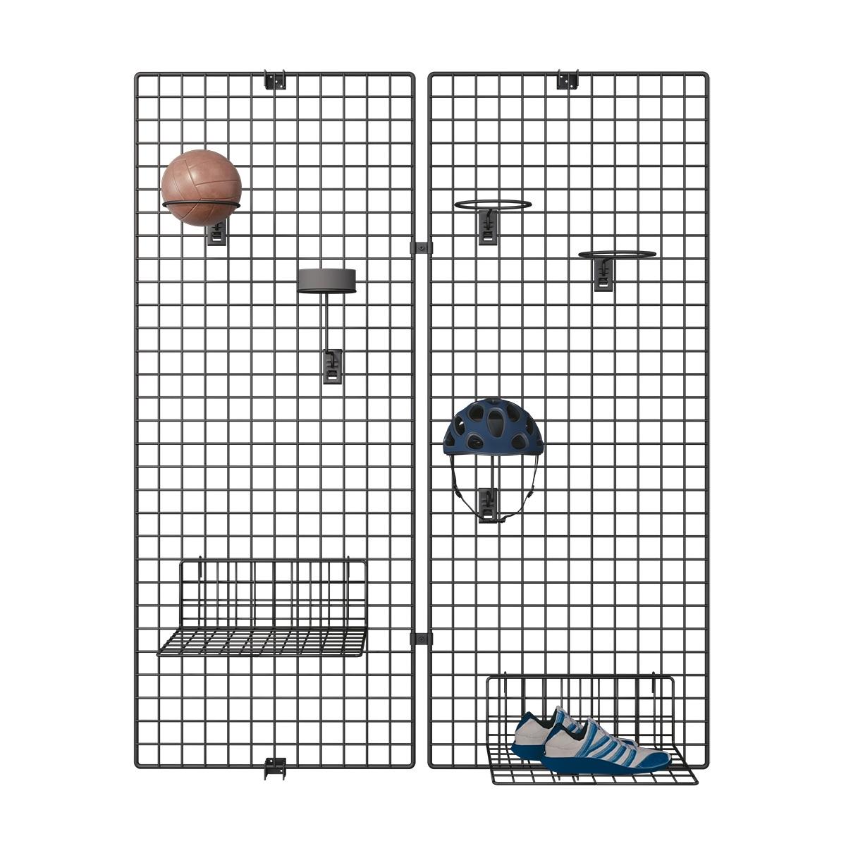 Deko Wandgitter 2er-Set: 80 x 150 cm
