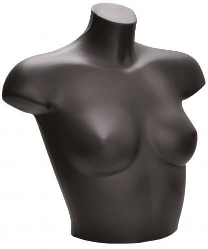 Schaufensterpuppen Oberkörper Frau schwarz