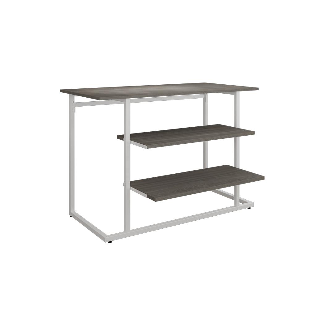 Stufentisch-Set weiß/ulme