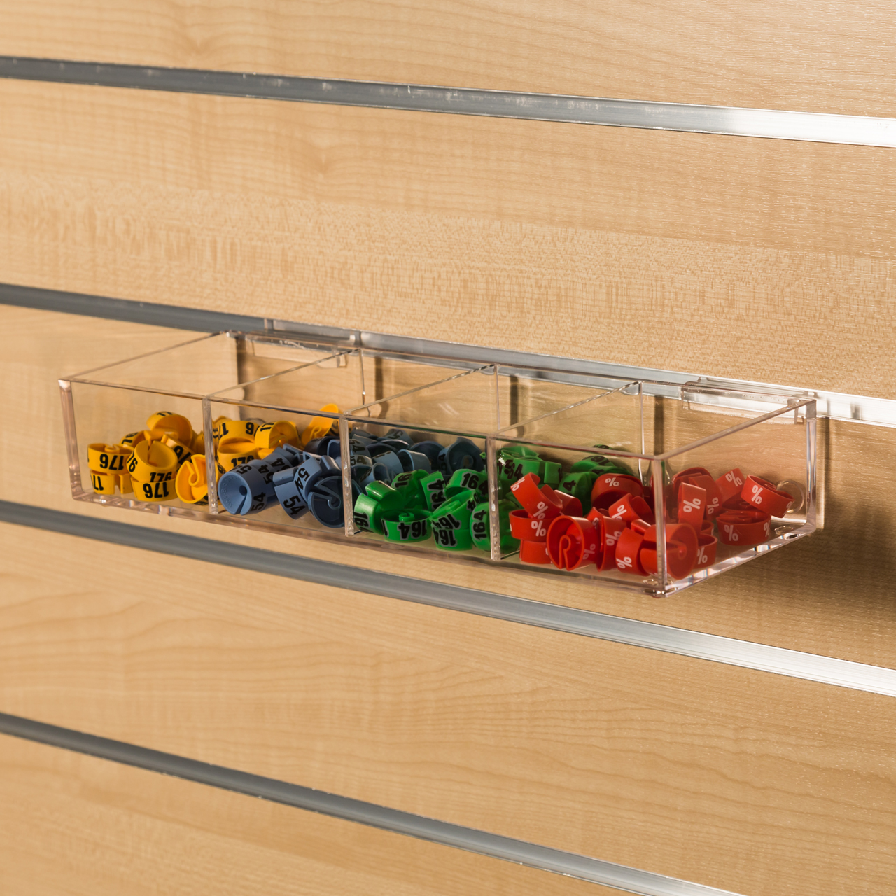 Schaukasten Transparent Kunststoff