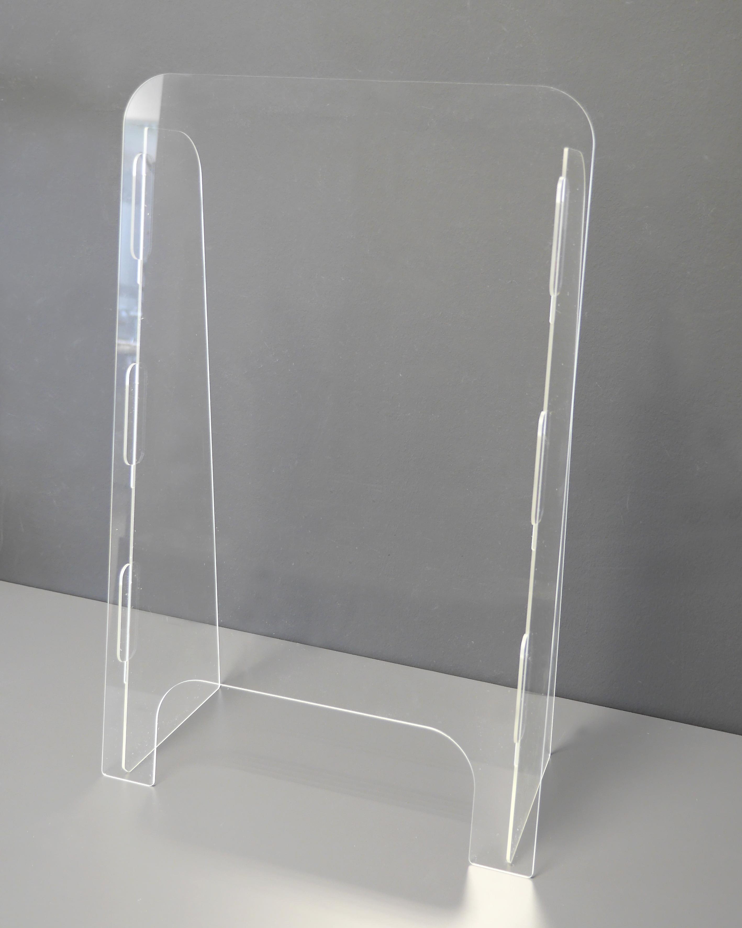 Mobile Kontakt- und Hygieneschutzwand -TOP Modul S