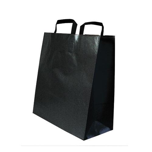 Papiertaschen schwarz