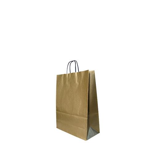 Papier-Taschen gold