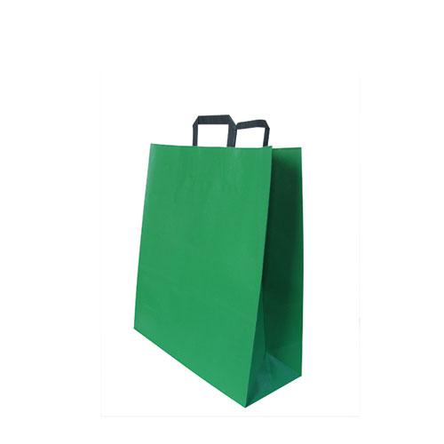 Papier Tragetüte grün